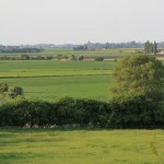 Looking north towards Crowland from Eye