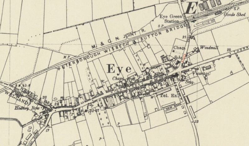 Map of Eye 1938