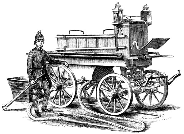 Full-size Merryweather fire engine