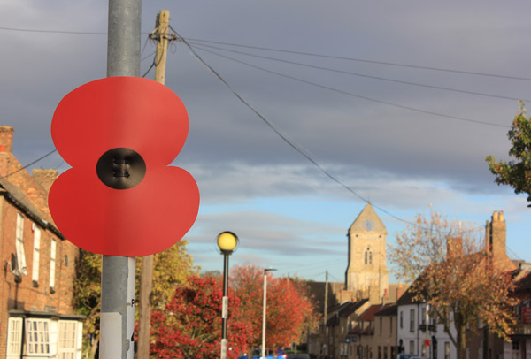 Poppy on the High Street
