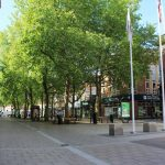 Peterborough City Centre during lockdown