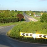 Looking west along the A47 during lockdown