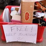 Free items on road