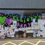 Elliot's Funeral window